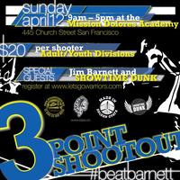 LetsGoWarriors/DreamLeague #BeatBarnett 3-Point...