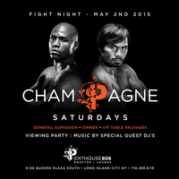 MAYWEATHER / PACQUIAO AT PENTHOUSE 808 ROOFTOP