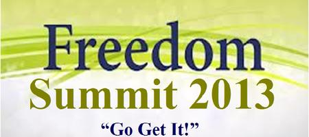 Freedom Summit 2013