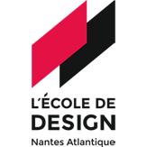 L'École de design Nantes Atlantique  logo