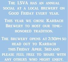 LSVA Social at Karbach Brewery