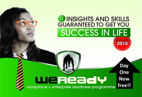 2015 WeReady - Workplace & Enterprise Readiness...