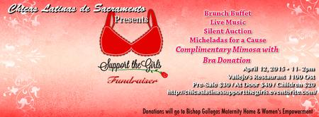 """Support the Girls"" Chicas Latinas' Anniversary Brunch..."