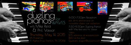 Dueling Pianos for Waves with Mike Reid and Phil Vassar
