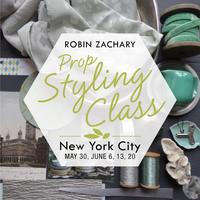 Robin Zachary Prop Styling Workshop