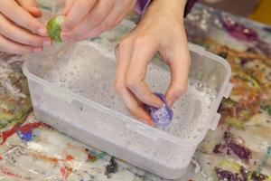 Wet Felting - Mothers Day - Aromatherapy for KIDS!