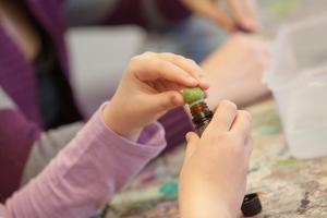 Wet Felting~Mothers Day~Aromatherapy for KIDS!
