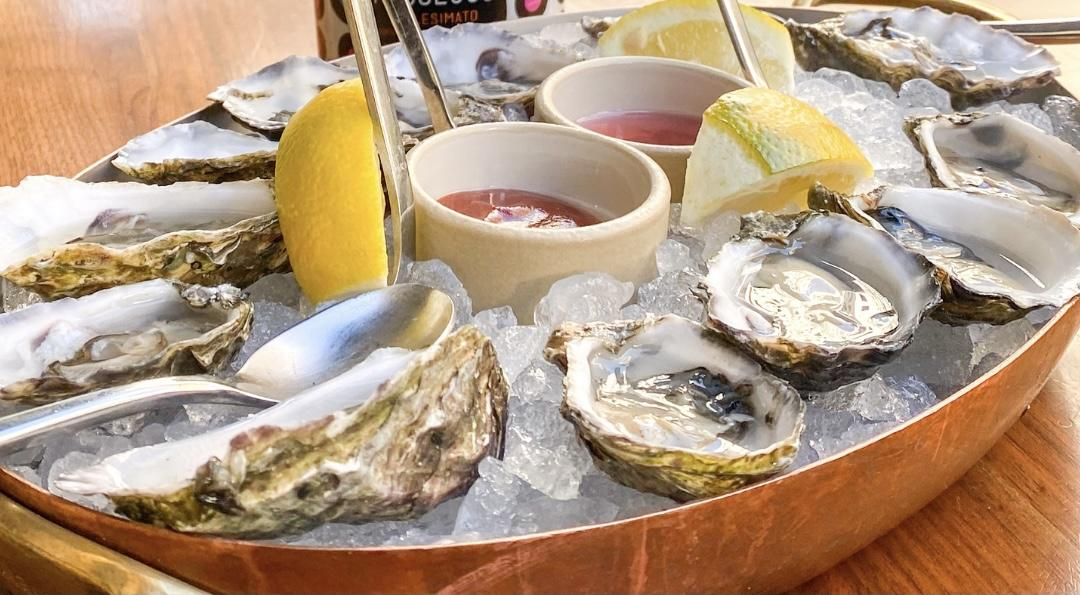 $19 Bottle of Wine & 6 Oysters Happy Hour Experience