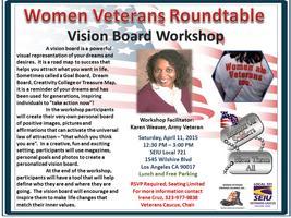Women Veterans Roundtable - Vision Board Workshop