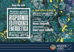 Nuovo piano energetico del Lazio