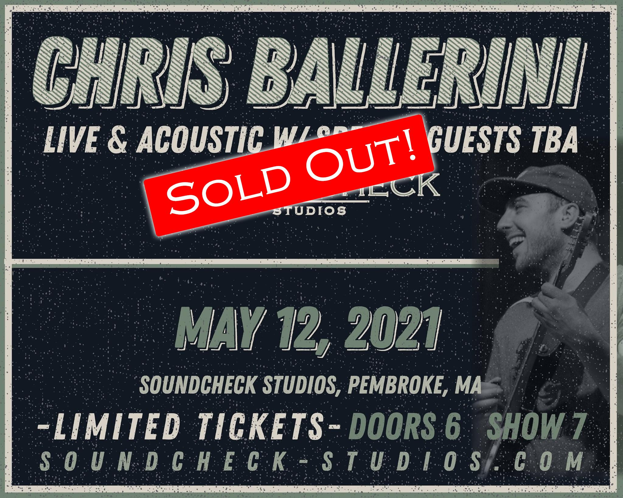 SOLD OUT - Chris Ballerini