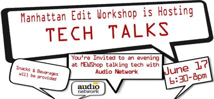 MEWShop TECH TALK Partnered with Audio Network