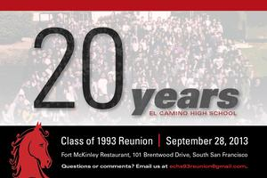 El Camino High School Class of 1993 20th Reunion
