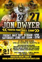 JON DWYER YOUTH FOOTBALL CAMP