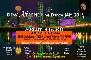 DFW XTREME Line Dance JAM 2015