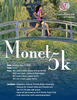 Tallahassee Monet 5K Run/Walk
