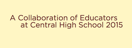 Collaboration of Educators at Central High School