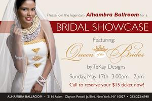 Alhambra Ballroom of New York Bridal Expo 2015