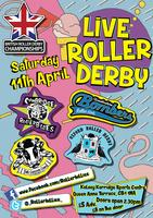 Live Roller Derby in Cambridge! Round 3 of Tier 3:...