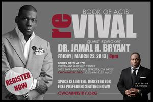 Book of Acts Revival with Dr Jamal Bryant