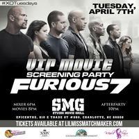 XO Tuesdays: Furious 7 VIP Movie Screening Party