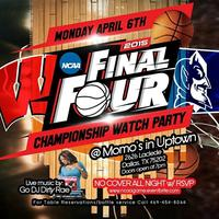 "NCAA Championship ""Big Game"" Watch Party @ Momo's in..."