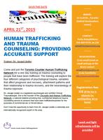 HUMAN TRAFFICKING AND TRAUMA COUNSELING: PROVIDING...