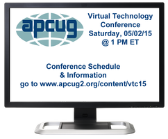 APCUG's 2015 Spring Virtual Technology Conference