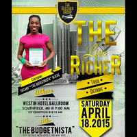 The Budgetnista is Coming to Detroit, MI : LIVE RICHER...