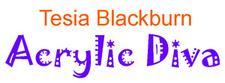 Tesia Blackburn - Acrylic Diva logo
