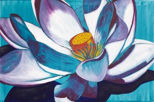 Flower Power a 70's theme original oil paintings by...