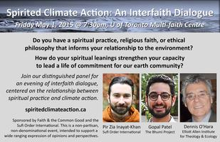 Spirited Climate Action: An Interfaith Dialogue