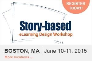 Story-Based eLearning Design Workshop (Boston, MA) 2015