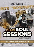 MIAMI SOULSESSIONS 80s vs 90s Party With @AFLYGUY &...