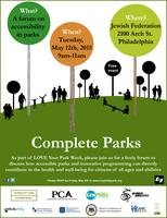 Complete Parks: A discussion on ensuring our public...