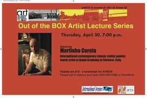 Out of the Box Artist Lecture Series III featuring Mart...