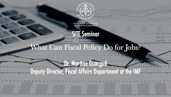 Seminar with Dr. Martine Guerguil, IMF