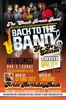 Back 2 Da Bands Featuring DC's own CHUCK BROWN'S BAND...