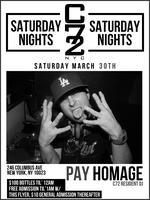 SAT 03/30/13 AT C72 W/ FREE ADMISSION TIL' 1AM & MUSIC...