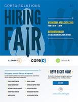 Core3 Solutions Hiring Fair