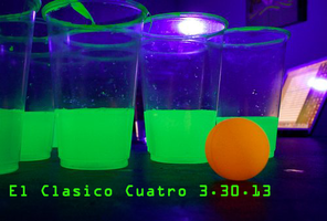 El Clasico Cuatro: Beer Pong Party and a Whole Lot More