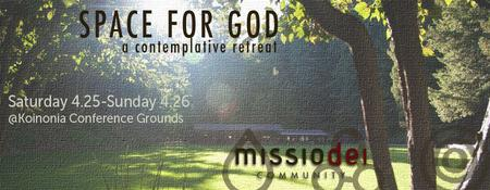 Space For God Contemplative Retreat