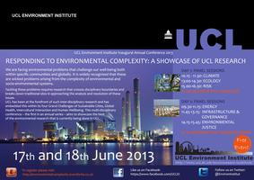 Responding to Environmental Complexity: A Showcase of UCL...