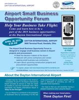 Airport Small Business Opportunity Forum 2015