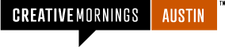CreativeMornings/Austin logo