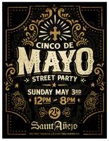 Saint Anejo Presents: Cinco de Mayo on MStreet