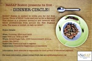 NetSAP Boston Dinner Circle