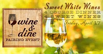 Sweet White Wine Dinner