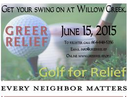 2015 Golf for Relief