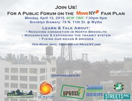 Move NY North Brooklyn Town Hall PLEASE NOTE NEW TIME